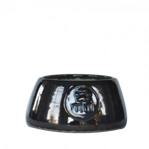 Dog bowl-black