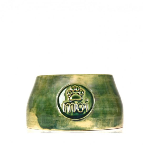 Dog bowl-green